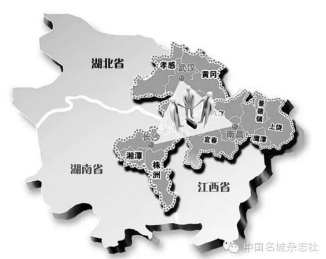 从地理空间上看,长江中游是指湖北宜昌至江西湖口一
